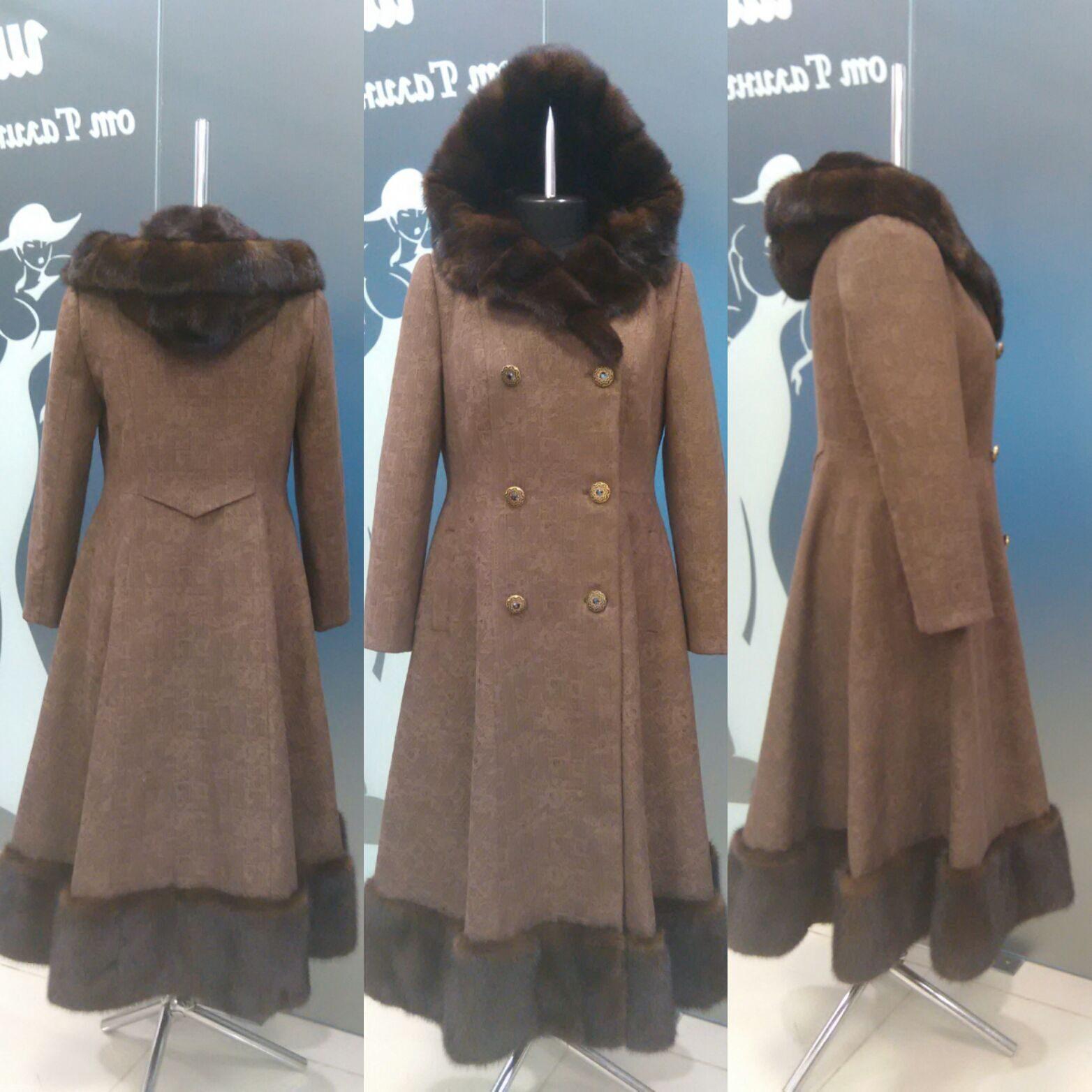 Пальто на меховой подкладке сшить 40